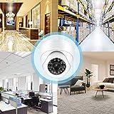 Baby Monitor Security 720P AHD Cámara domo para seguridad en interiores con visión nocturna por infrarrojos(black)
