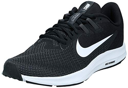Nike Women's Downshifter 9 Sneaker, Black/White - Anthracite - Cool Grey, 7.5 Regular US