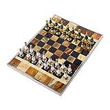ajedrez Juego de ajedrez Juegos De Junta De Ajedrez Juegos De Cerebro Teaser Juegos De Ajedrez Internacional Conjuntos De Ajedrez Para Adultos Modern Light Creative Board Metal Chess Pieces Tamaño 47.