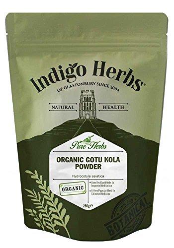Indigo Herbs Bio Gotu Kola   Wassernabel Pulver 250g