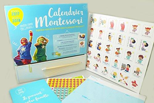 Calendrier Montessori 2017-2018 (Vie Quotidienne)