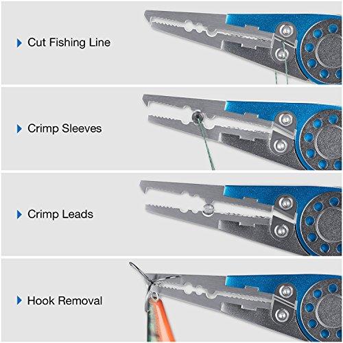 Product Image 2: Piscifun Aluminium Fishing Pliers – BEST VALUE