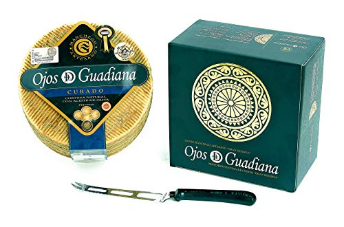 Manchego Curado Ojos del Guadiana (Tamaño: Queso entero)