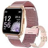 Smartwatch Mujer Hombre Reloj Inteligente IP68 con 17 Modos de...