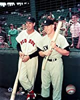 "Red Sox/Yankees Ted Williams & Mickey Mantle 8"" x 10"" Baseball Photo"