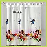 Cortinas Campanilla 150B x 157L decorativo cortina de Disney