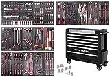 KRAFTWERK 3935NG-4940 Servante d'atelier 7 tiroirs-Équipée-Extra Large