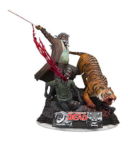 McFarlane Toys The Walking Dead Ezekiel & Shiva Limited Edition Resin Statue Action Figure