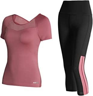 Yoga Wear Women's Sport Suits 2-pieces Sweatsuits Yoga Jogging Tracksuits