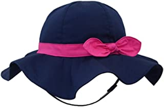 SNW Kid Baby Summer Hat Baby Sun Hat Hip Hop Hat Baseball Cap Baby Cap (21.3-21.7 in/8-10 Years, Dark Blue)