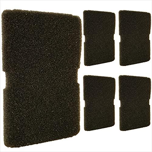 2 filtros universales para secadoras: adecuado para intercambiadores de calor, secadoras de bomba de calor y secadores de condensadores de diferentes fabricantes, 240 x 155 x 11 mm, gris.