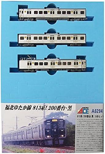 Spur N A6294 813-basierte 200-Serie Schwarz3-Wagen-Set