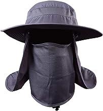 Chapéu de proteção solar UV PretyzOOM com proteção solar para o rosto para pesca ao ar livre, caminhadas, jardinagem, apic...