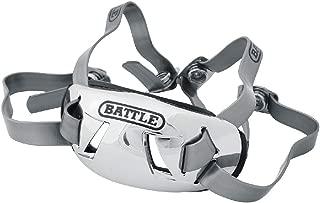 Battle Sports Science Battle 镀铬成人橄榄球绑带(27AC0000XX-成人) 银色 可调节