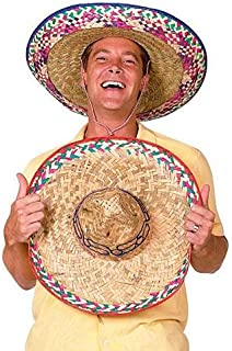 Stumps Sombrero Party Hat Colors May Vary, 12 Pack