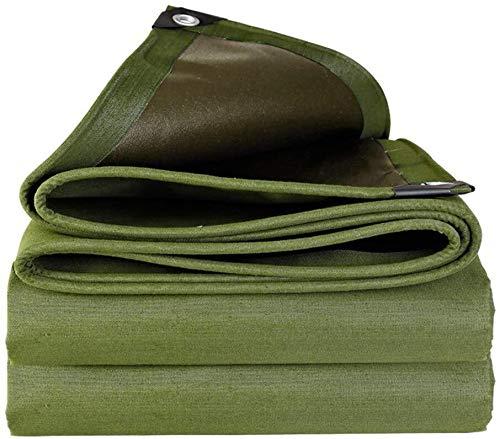 Zhangpeng Persenning Einseitig Beschichtung wasserdichtes starke verschleißfeste wasserdichtes Tuch wasserdicht Sonnenschutz-Plane Plane Visier Außenisolierung Zelt, grün (Unterstützung Anpassung)