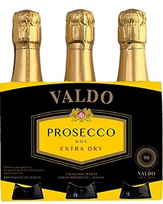 Prosecco DOC Extra Dry Quintino 3 x 20 cl. - Valdo