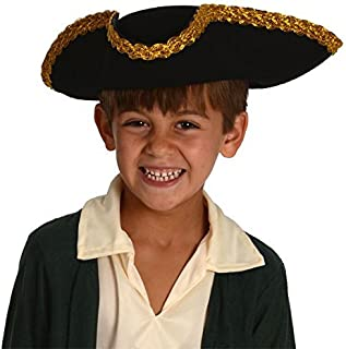 Kangaroo Kids Revolutionary War Deluxe Colonial Tricorn Hat