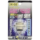 KOITO [小糸製作所] ハイパワーハロゲンバルブ [耐振H4] 12V60/55W (1個入り) [品番] P-0535 ライト