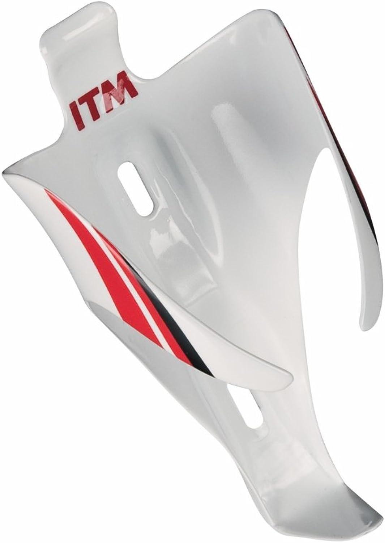 New ITM Estrel White Water Bottle Cage Carbon