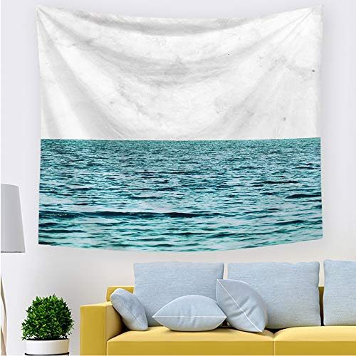 xkjymx Tapiz de Playa de mar 211513 200 * 150 cm Lijado de sección Delgada