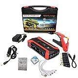 KTT Arrancador de batería de Coche de 20000 mAh, Cargador portátil para Herramientas eléctricas al Aire Libre Fuente de alimentación de Reserva de Arranque Dual Diesel