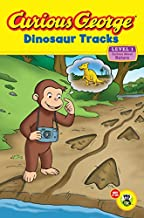 Curious George Dinosaur Tracks (Curious George: Green Light Reader, Level 1)