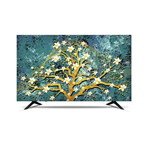 MFMYUANHAN TV CUBIERTE Smart LCD LED TV Cubierta A Prueba De Agua Y Cubierta De Pantalla A Prueba De Sol (Verde 50 Pulgadas)(Size:65in,Color:3#)