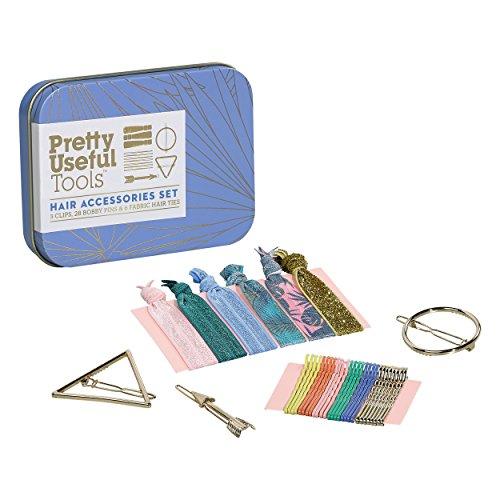Vrij Handig Gereedschap | Haaraccessoires Kit | 3 Clips | 28 Bobby Pins | 6 Haarbanden