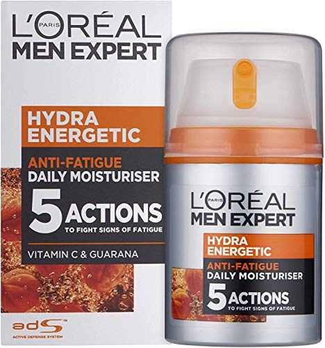 L'Oréal Paris Men Expert Hydra Energetic Anti-Fatigue Moisturiser, 50 ml