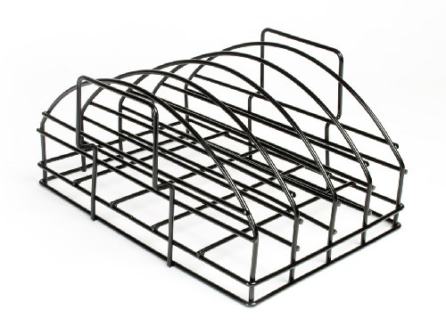 Steven Raichlen Grand support à rib Noir 28,7 x 35,51 x 17,5 cm SR8017