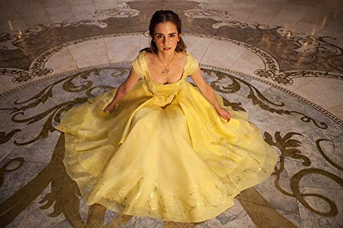 Emma Watson Hollywood Beauty And The Beast Belle - Póster (12 x 18 pulgadas), multicolor