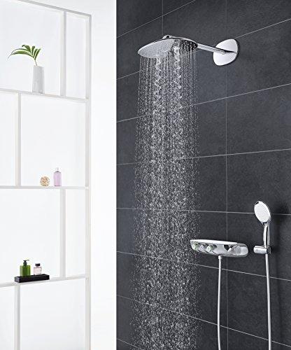 GROHE Duschsystem Unterputz Rainshower Smartcontrol 360 Duo Brausen- und Duschsystem mit Thermostatbatterie auf-/Unterputz Kombination, chrom   26443000 - 2