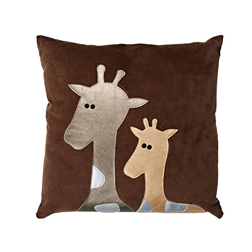 Brown Giraffe Pillow