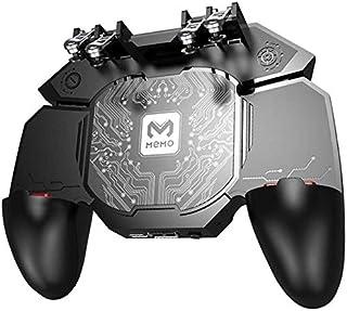5 in 1 Mobile Game Controller Eat Chicken Artifact Mobile Phone Radiator Eat Chicken Handle Fan DL88 Mi Mo Memo Six Finger...