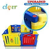 New Improved Baby Kids Safety Playpen 8 Panel Play Center Home Indoor Outdoor
