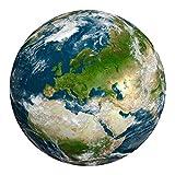 JumpXL Rompecabezas 1000 Pedazos Cuadro De Montaje De Papel Serie De Pinturas De Actividades De Interior Desafiantes Y Divertidas, Planet, Tapa Dura Para Adultos Juegos Educativos Para Niños Juguetes