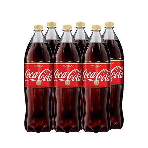 Coca-Cola Vanilla koffeinhaltiges Getränk - Original Coca Cola mit Vanille Geschmack (6 x 1,75 l)
