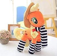 ポータブルドレスアクセサリー漫画ポニーユニコーン馬ぬいぐるみ子供用ぬいぐるみファンギフト35cmコットンギフト装飾品ギフト