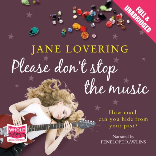 Please Don't Stop The Music audiobook cover art