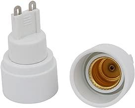 joyMerit E27 Extendido A 2 E14 LED Bombilla Adaptador Convertidor Soportes De Portal/ámparas