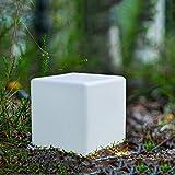 LED-Solar-Gartenleuchten MATE 40x40x40cm Solar-Tisch-Leuchte...
