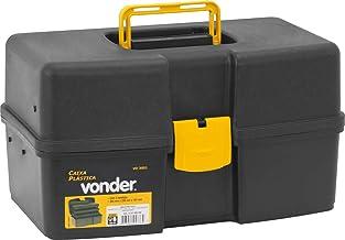 Caixa Plástica Vd 3001, Com 3 Bandejas Vonder