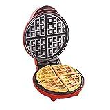 CJF Máquina para Hacer Gofres Máquina De Fabricante De Waffle Máquina De Hierro Haciendo Gofres En Forma De Corazón Antiadherente Placas De Cocción Profunda 1200W