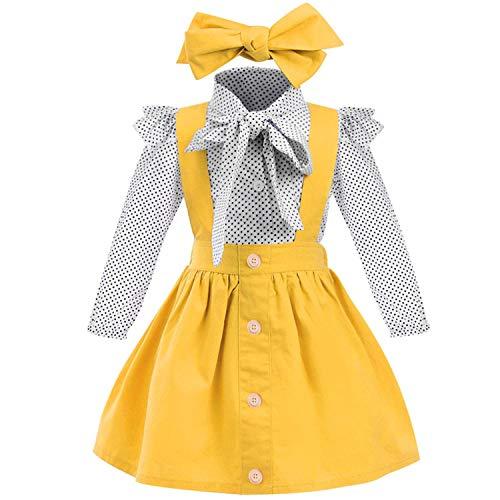 Baby T-Shirt Gurt Kleid 2 Teile/Satz Kleinkind Mädchen Kurzarm Rüschen Top Overalls Plaid Rock Kleidung Set …