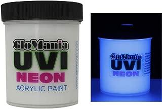Blue UV Reactive Daytime Invisible Neon Rave Paint 16oz