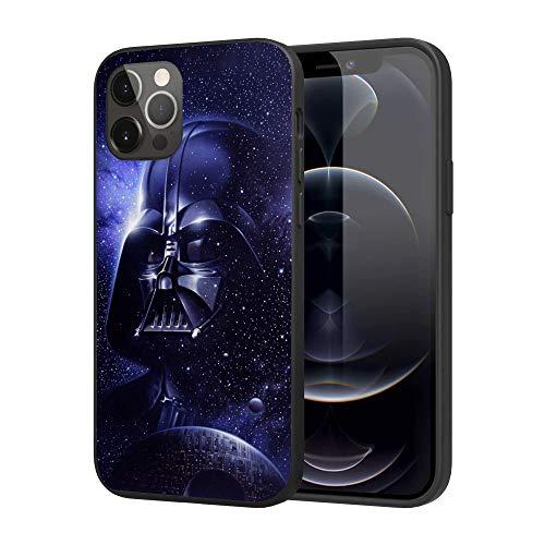 iPhone 12 Pro Max Case,Silicone Case Cover Case Fashion Case (Starwars-Darth-Vader-2)