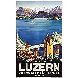 zkpzk Schweiz Luzern Tourismus Poster Luzern Stadt
