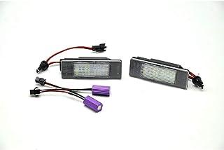 Satz Passform LED Nummerschildbeleuchtung kompatibel mit Mercedes/Nissan Diversen