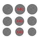 Xkfgcm 120 piezas Fieltros Autoadhesivos Base Deslizante de Fieltro para Muebles Protección contra Arañazos Autoadhesivo Protectores Para Patas de Mesa 3 Tamaños 20 * 3/25 * 3/30 * 3 mm Redondo